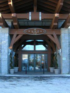 Sliding door in Lodge Burlington, London, Ottawa   Horton Automatics of Ontario