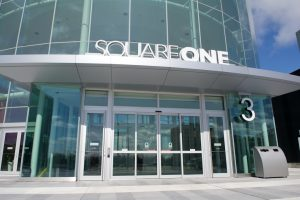 Sliding door in Square One - Automatic sliding door systems By Horton Automatics of Ontario