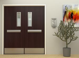 Integrated Double Door