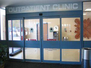 Door Installation in Clinic