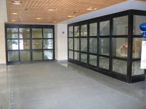 Sliding Entrance Door in Paoli Hospital