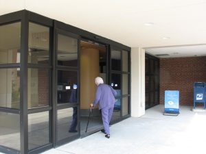 Sliding Front Door in Paoli Hospital