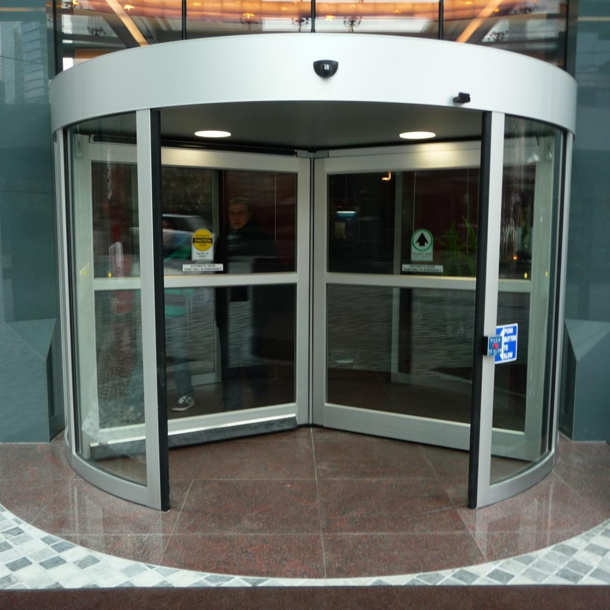 Automatic Revolving Doors Systems Baden Allegheny Door