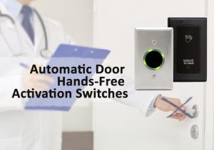 Automatic door hands-free activation switches from Allegheny Door