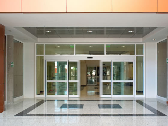 After Installation Automatic Doors