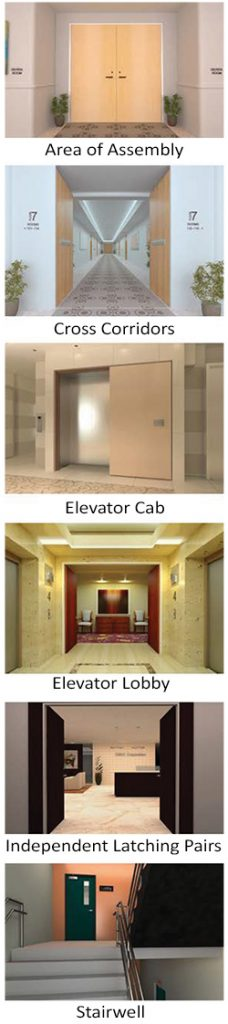 Syntegra Integrated Door applications