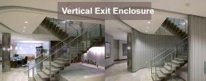 Vertical Exit Enclosure